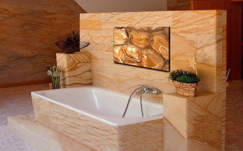 Кварцевые плиточные приборы производителя Texture достаточно реалистично имитируют поверхности природных камней и минералов