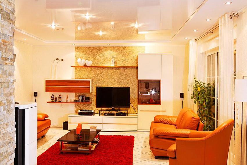 Производители светодиодных светильников для натяжных потолков предлагают очень широкий выбор вариантов