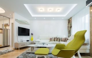 Потолочные светодиодные светильники для дома: суть гармоничного освещения