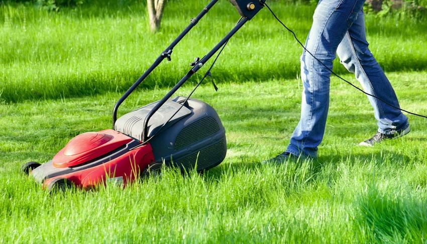 Использование самоходной газонокосилки не требует больших усилий, достаточно просто задать направление
