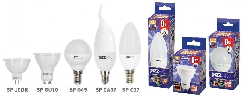 Линейка светодиодных ламп Jazzway