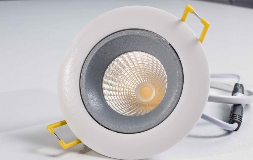 Точечный встраиваемый светодиодный светильник