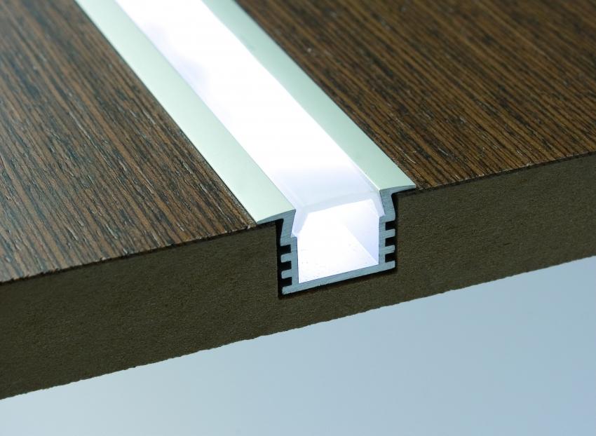 Мебельный встраиваемый светодиодный светильник