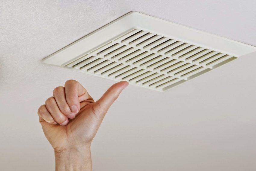 Вентиляционная решетка для защиты вытяжных вентиляторов