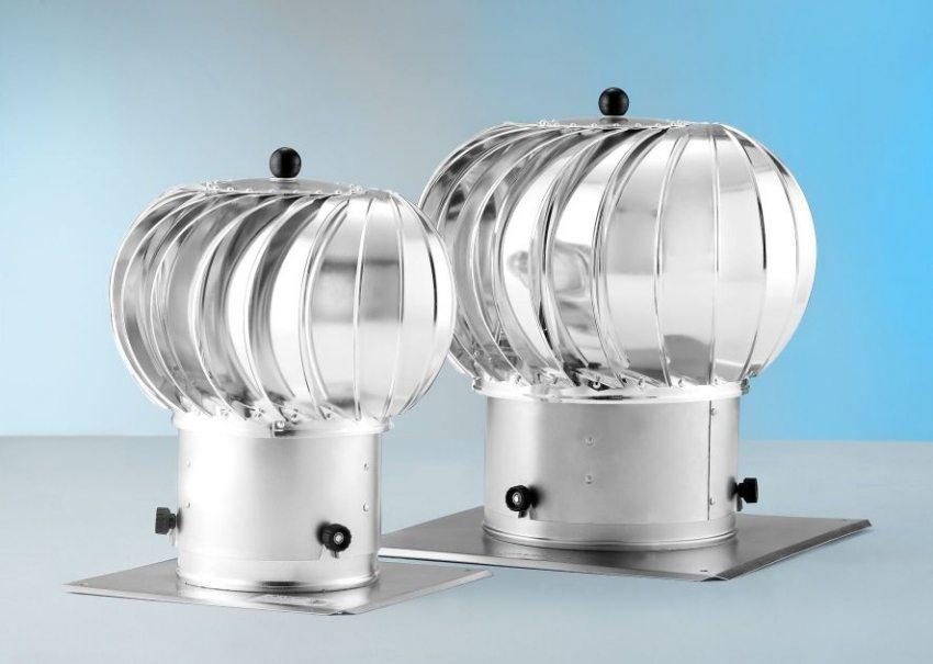 Ротационные вентиляционные дефлекторы