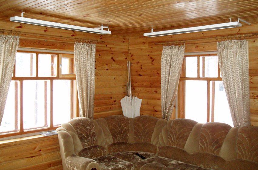 Обогреватели производства компании Ballu универсальны, их можно размещать как на стенах так и на потолке