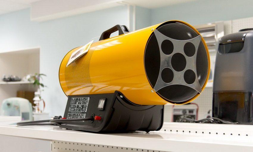 Газовая пушка создает сфокусированный луч тепла действующий локально