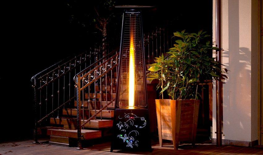 Инфракрасный газовый обогреватель Ballu способен обеспечить настоящий комфорт беседки или патио