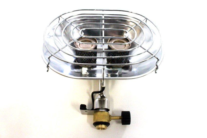 Одна из самых популярных моделей портативных обогревателей - Следопыт Ион PF-GHP-S01