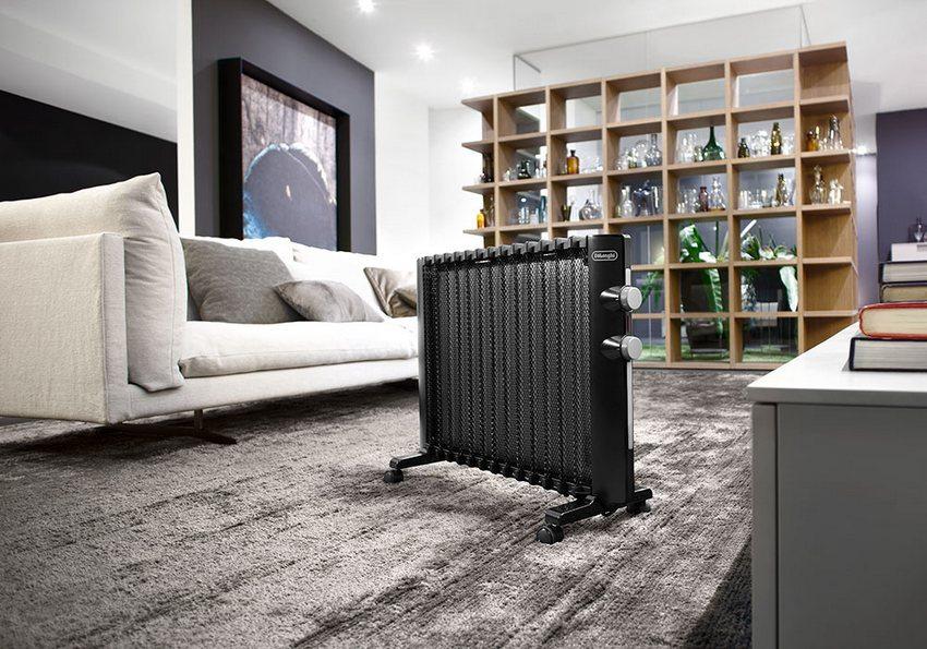 Микатермические нагреватели являются связующим звеном между конвекторами и инфракрасными устройствами