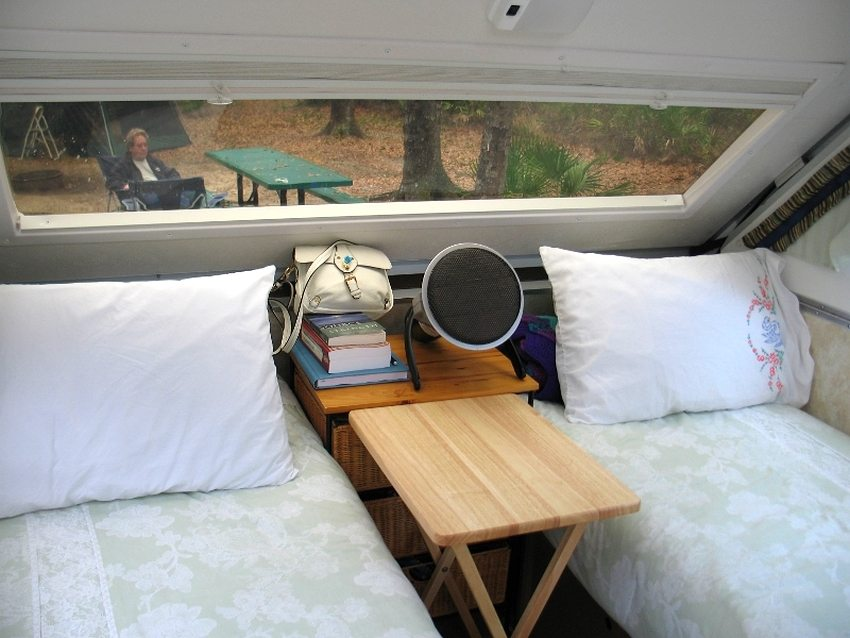 При небольших габаритах портативный каталитический обогреватель может легко обогреть небольшое помещение или палатку
