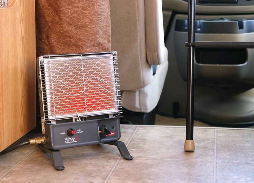 Многие модели каталитических обогревателей идеально приспособлены для использования в путешествиях