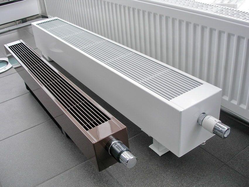 Напольные конвекторы работающие от централизованного отопления