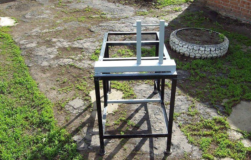 Процесс создания рамы для отрезного станка по металлу