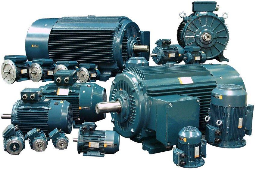 Асинхронный двигатель является оптимальным вариантом для самодельного токарного станка