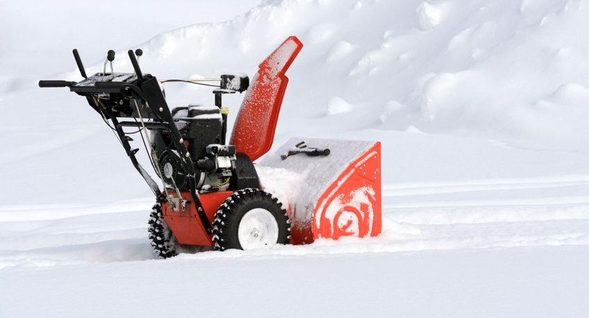 Выбирая снегоуборочную машину для вашего участка, обращайте внимание на особенности ландшафта