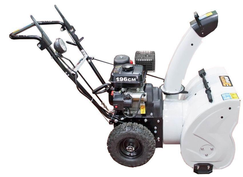Снегоуборщик СМБ 6.5/570 ЭФ компании Энергопром предназначен для уборки садовых дорожек и тротуаров