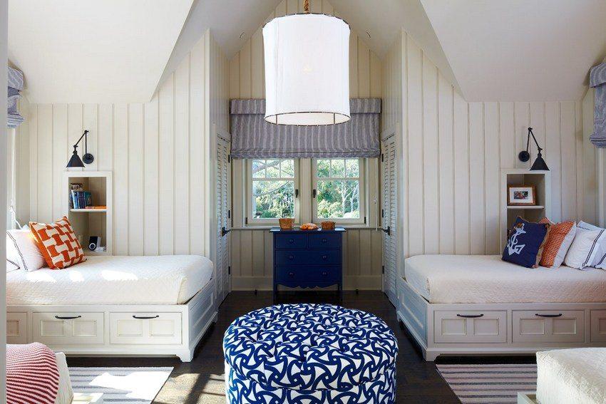 Стеновые панели могут с успехом применяться для отделки комнат любого назначения