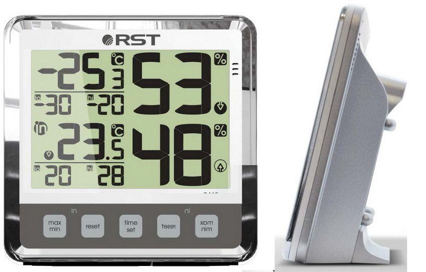 Существуют современные беспроводные термометры, которые можно размещать в любом месте помещения