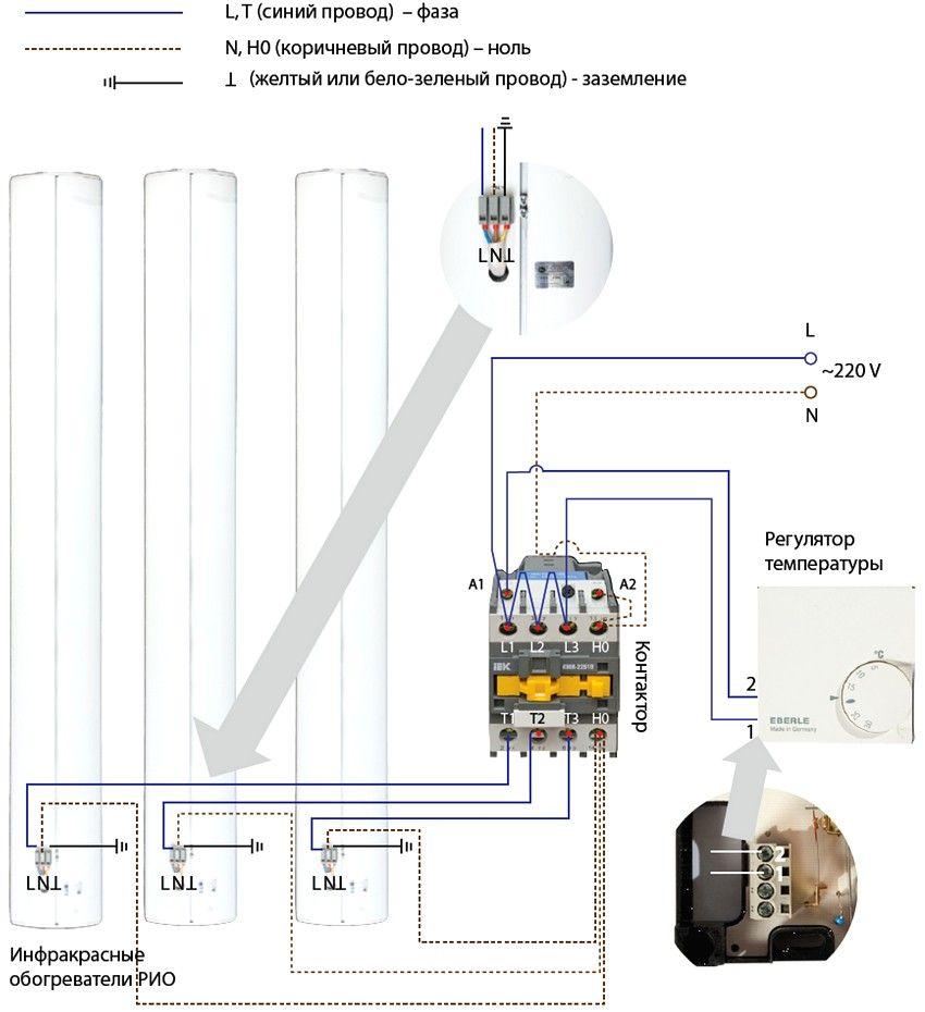 Схема инфракрасного обогревателя своими руками фото 954