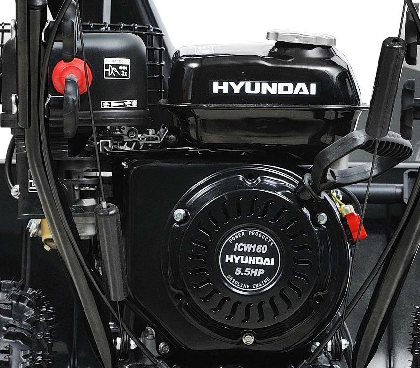 Двигатель снегоуборочной машины Hyundai S 5555