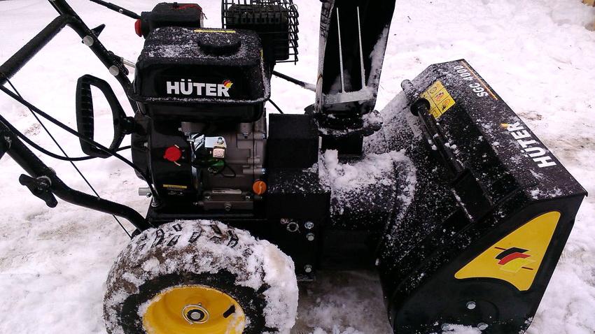 Снегоуборочная техника Huter отличается высоким качеством и эффективностью