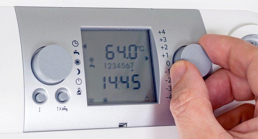 Терморегулятор на котел отопления