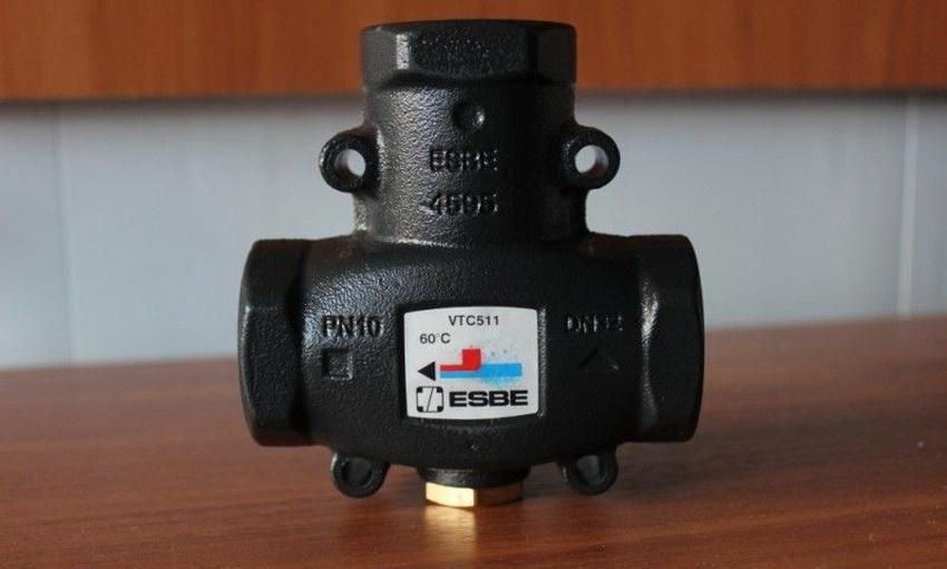 Трехходовой клапан для отопления производства фирмы Esbe