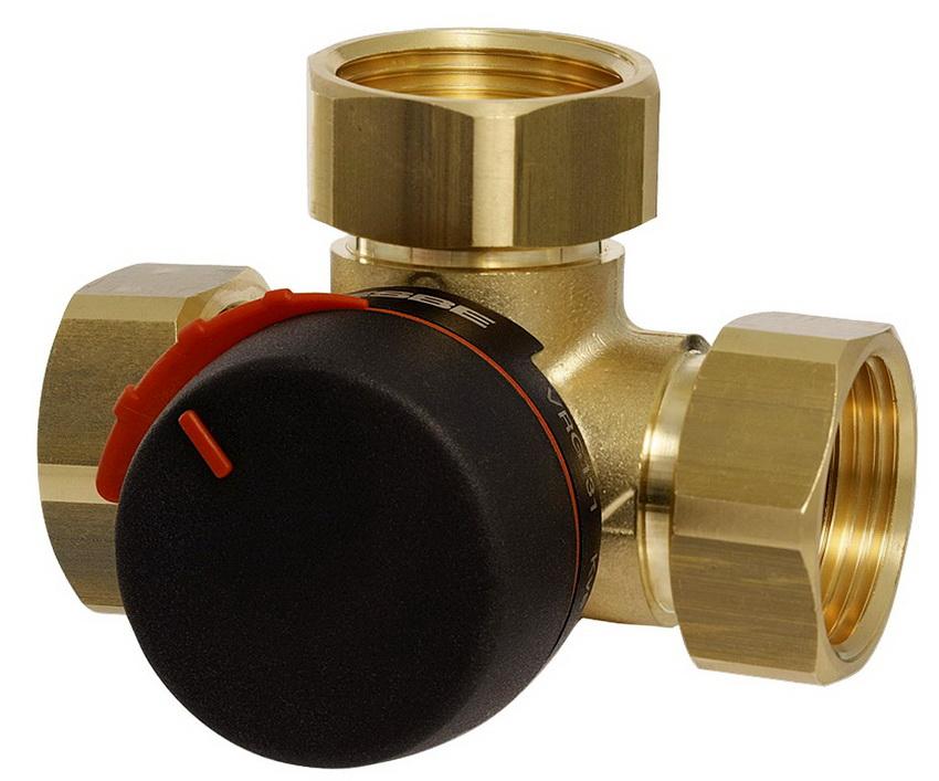 Трехходовой клапан для отопления с термостатом