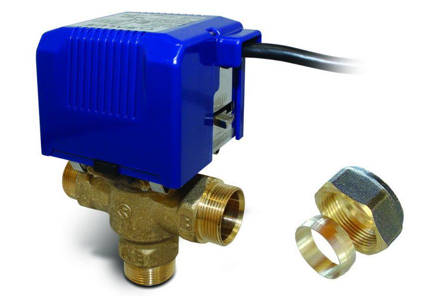 Клапан с сервоприводом на электрическом моторе