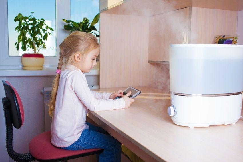 При температуре воздуха в помещении 21°С показатель влажность составит 14%
