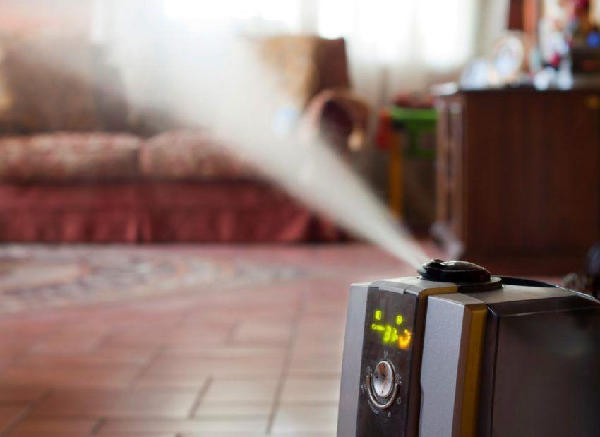 Уровень влажности воздуха выше 80% может спровоцировать заболевания дыхательных путей