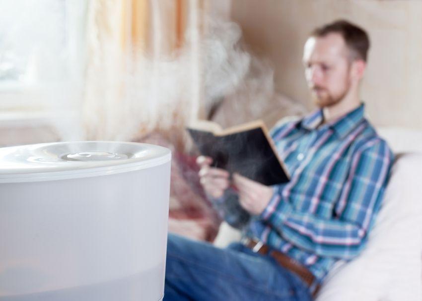 Использование увлажнителя воздуха снижает риск обострения аллергических реакций