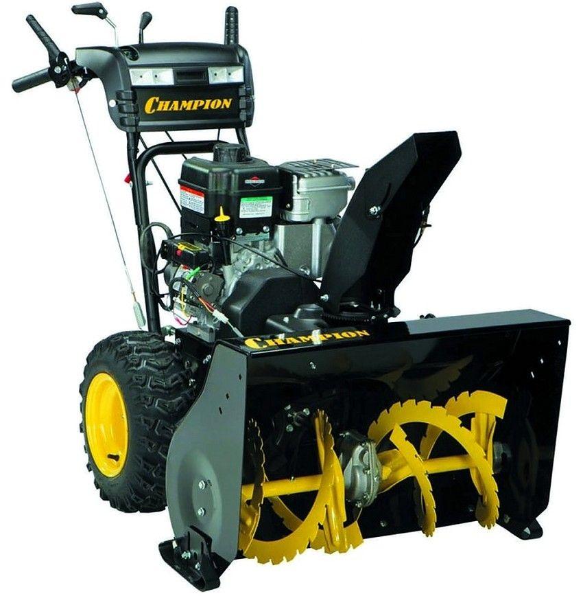 Самоходную бензиновую машину Champion ST1074BS отличает высокий уровень производительности