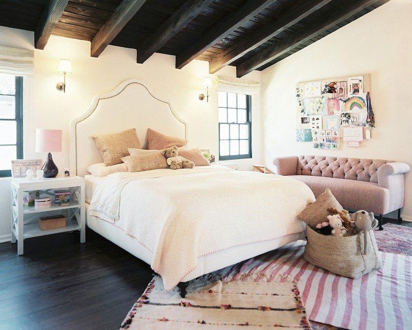Красиво оформленная комната девочки