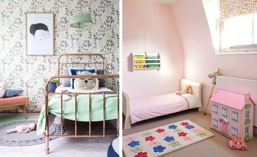 Примеры использования в детской маленьких ковриков