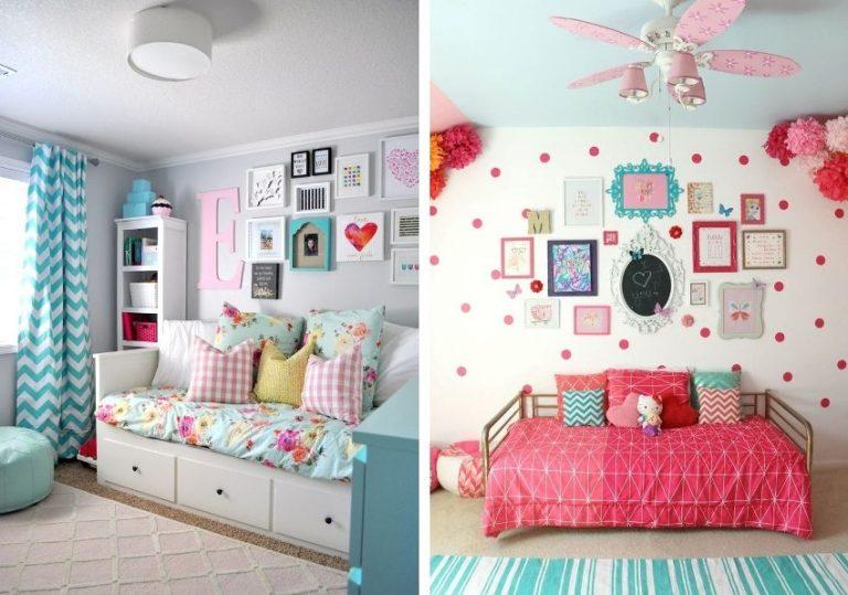 Оформить детскую комнату для девочек своими руками 19