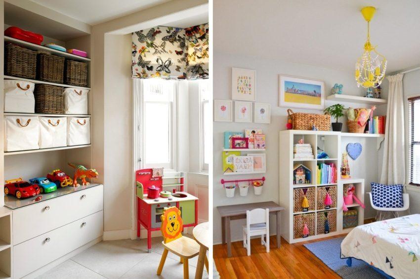 Примеры использования бежевого цвета в дизайне детских