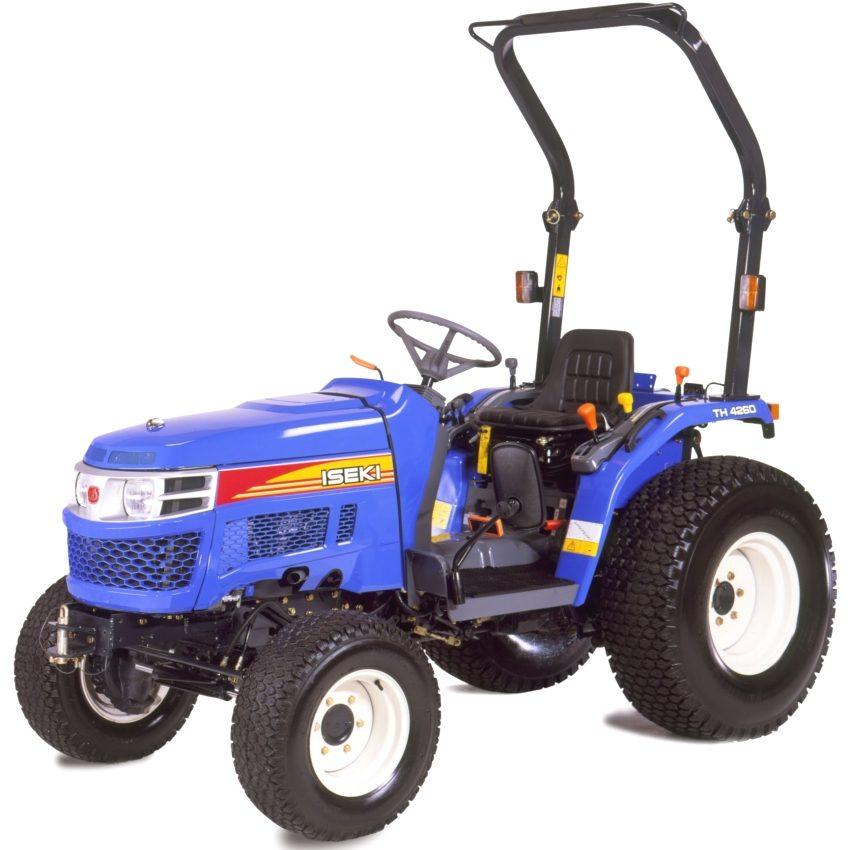 Японский мини-трактор Iseki