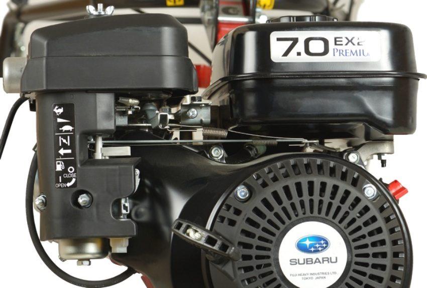 Двигатель Subaru EX 21, устанавливаемый в моделях Угра НМБ-1Н10