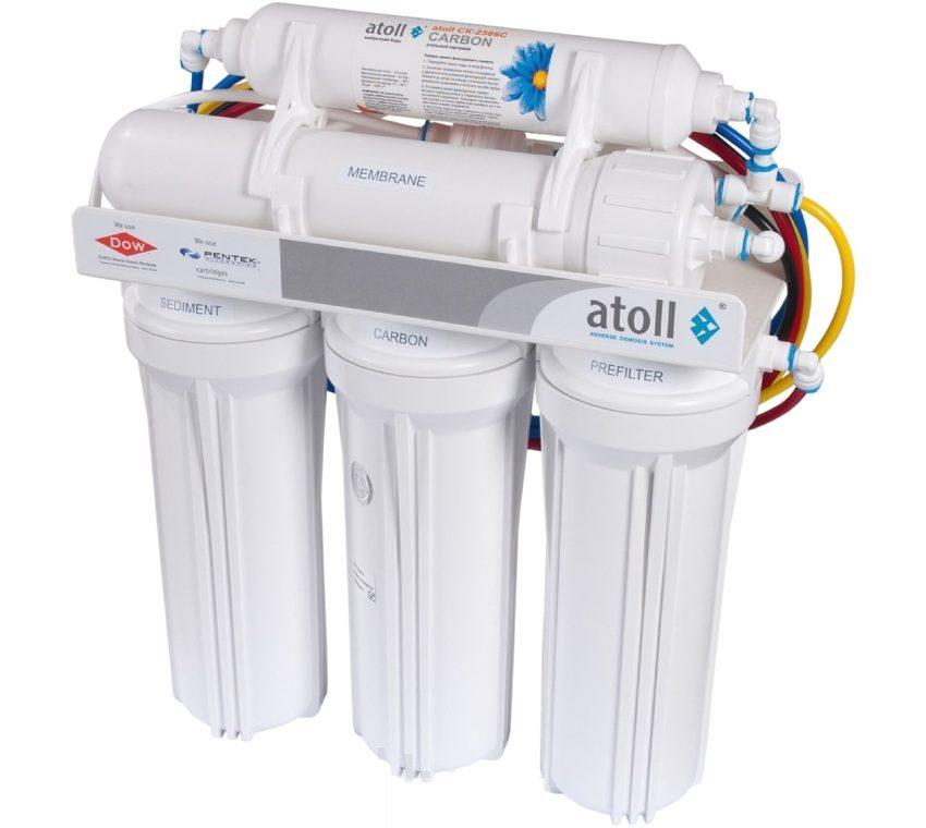 Фильтр для воды Atoll A-550 STD отличается высокой производительностью