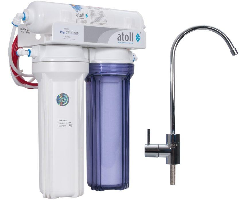 Фильтр для питьевой воды с обратным осмосом Атолл