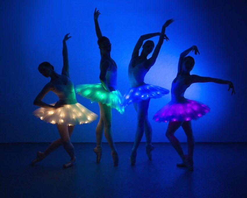Использование светодиодов в создании сценических костюмов