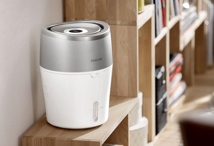 Прибор для увлажнения воздуха в квартире помогает поддерживать необходимый уровень влажности