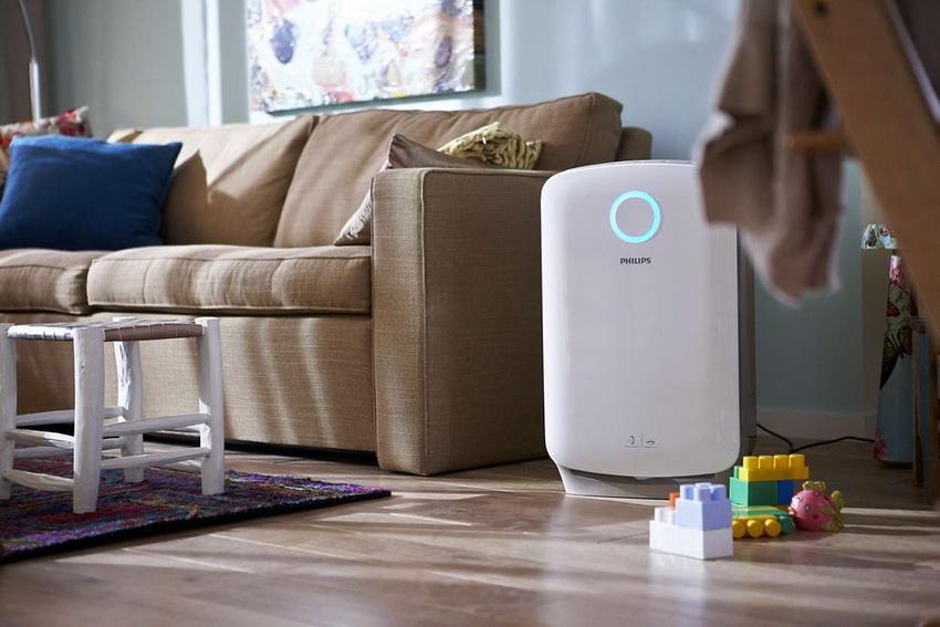 Комплексные очистители воздуха совмещают в себе несколько функций: ароматизацию, очистку, увлажнение, ионизацию