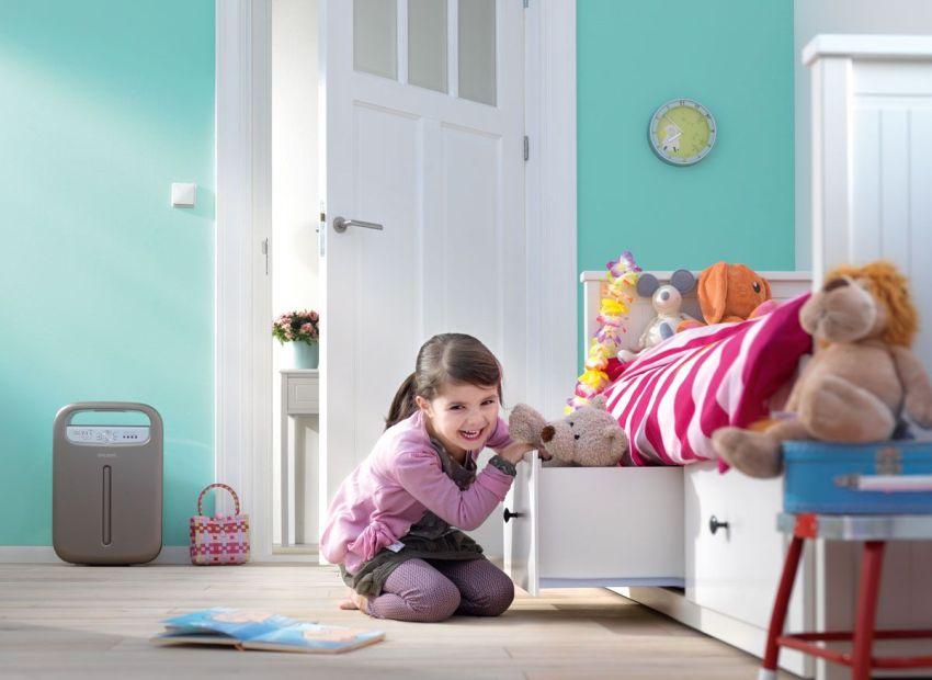 Основной критерий выбора устройства для детской комнаты - безопасность использования