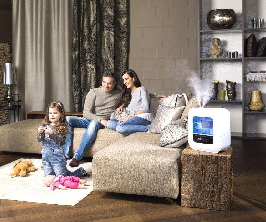 Функция ионизации помогает избавиться от неприятных запахов в помещении