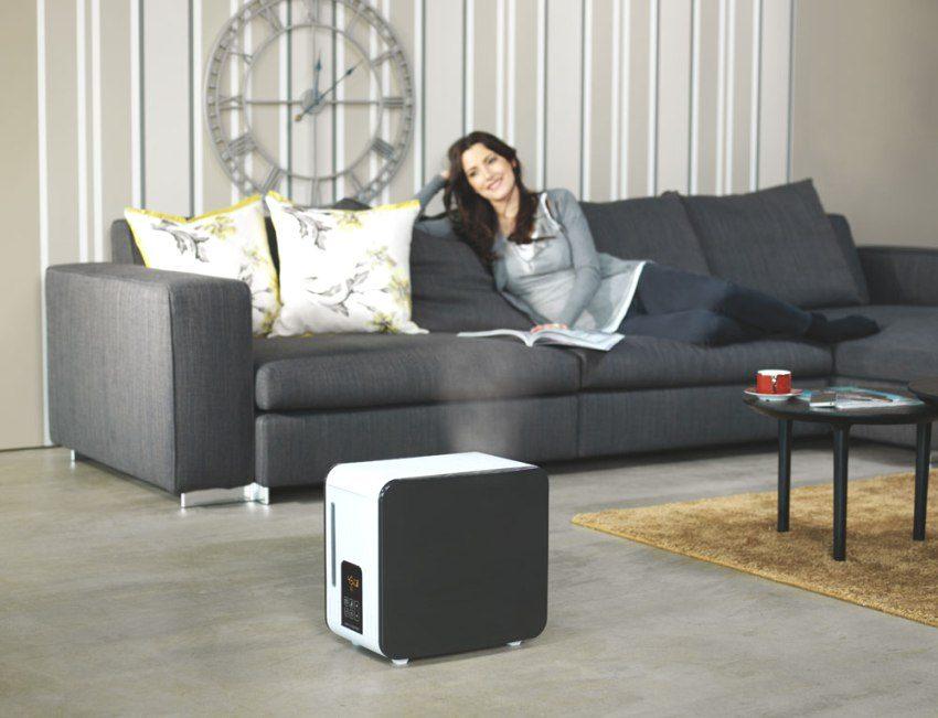 Увлажнитель воздуха абсолютно безопасен для здоровья человека
