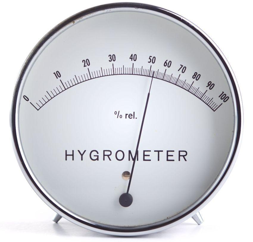 Механический комнатный настольный гигрометр