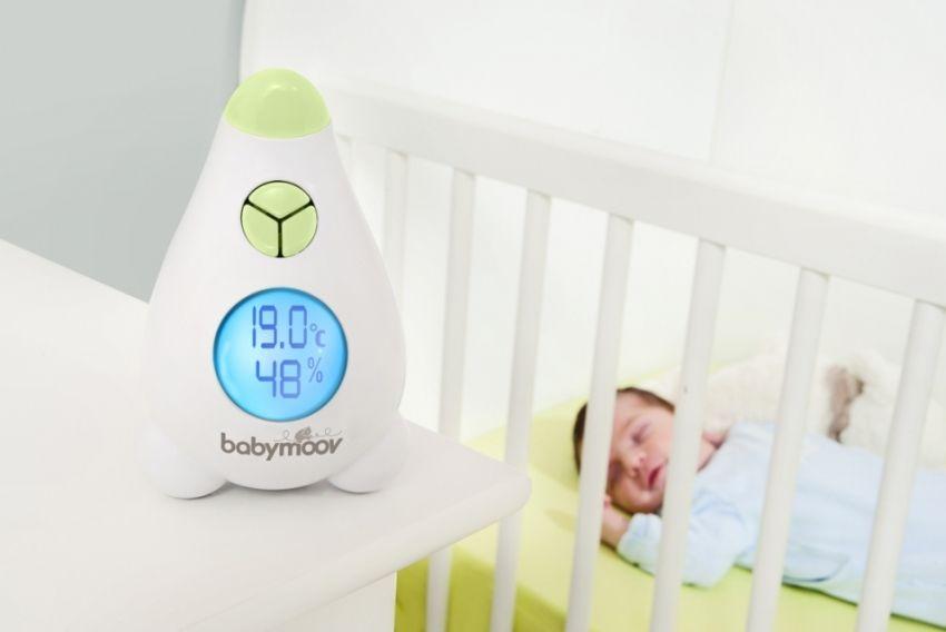 Гигрометр является обязательным прибором в детской комнате